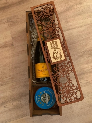 Premium Caviar Set with Veuve Clicquot Brut