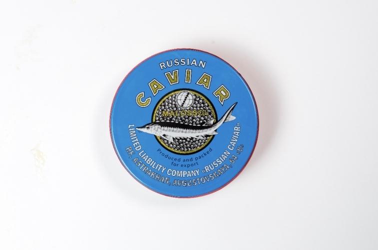 Чёрная забойная Осетровая икра ООО «Русская Икра» (250гр)
