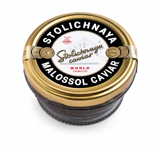 Чёрная Осетровая Икра Stolichnaya Caviar (100гр)