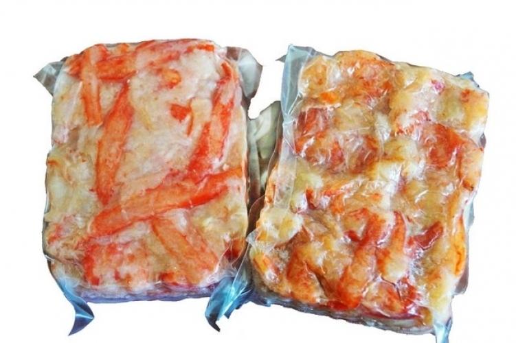 Салатное мясо краба Премиум (1кг)