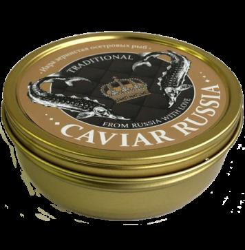 Икра зернистая осетровых рыб  «CAVIAR RUSSIA TRADITIONAL» ж/б 250гр