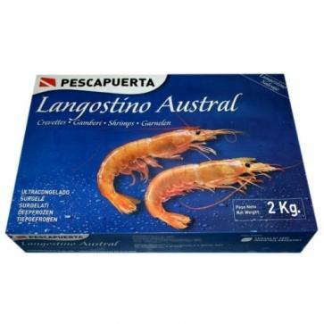 Лангустины креветки Аргентинские L1 (2кг)