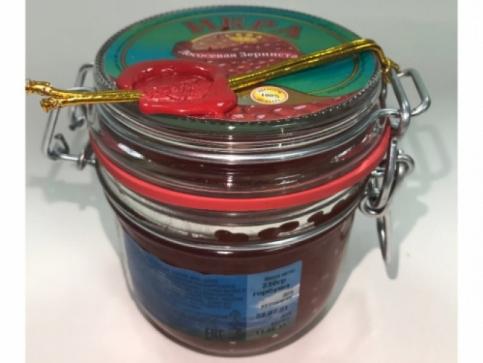 Красная Икра Горбуши Сахалинская Высший сорт бугель (230гр)