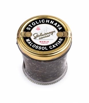 Чёрная Осетровая Икра Stolichnaya Caviar (250гр)