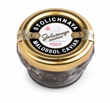 Чёрная Осетровая Икра Stolichnaya Caviar (30гр)