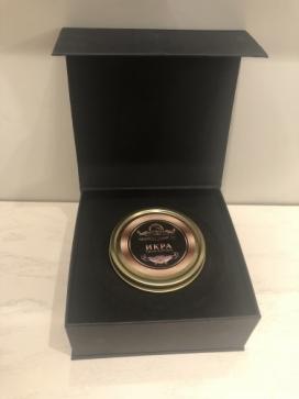 Чёрная Икра в подарочной упаковке (100гр)