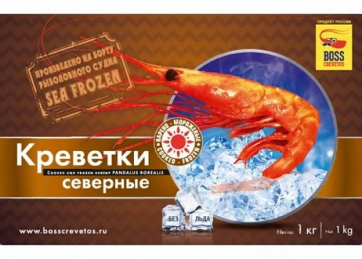 Креветка Северная Boss Crevetos (1кг)