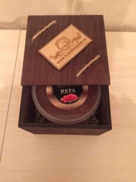 Красная икра в эксклюзивном подарочном боксе  (500гр)